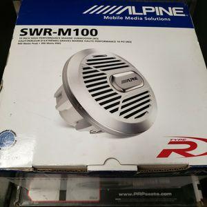 Alpine Marine Subwoofer for Sale in Poway, CA