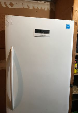 Free Frigidaire upright freezer. Works Great!!! for Sale in Woodway, WA