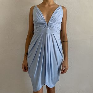 Venus Baby Blue Plunge Mini Dress for Sale in Jacksonville, FL