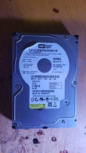 WESTERN DIGITAL=WD2500JS-75NCB3, DCM DSCACTJAAN, Western Digital 250GB SATA 3.5 Hard Drive for Sale in La Vergne, TN