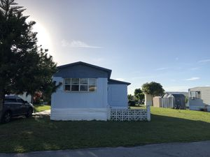Single wide manufactured home 3/1 for Sale in Miramar, FL