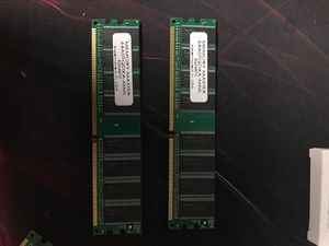 2x sticks of memory master RAM for Sale in Georgetown, TX