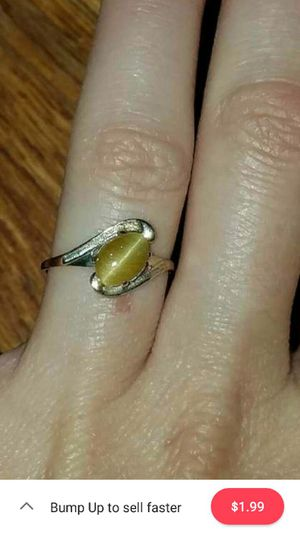 Yellow Jade gold ring for Sale in NV, US