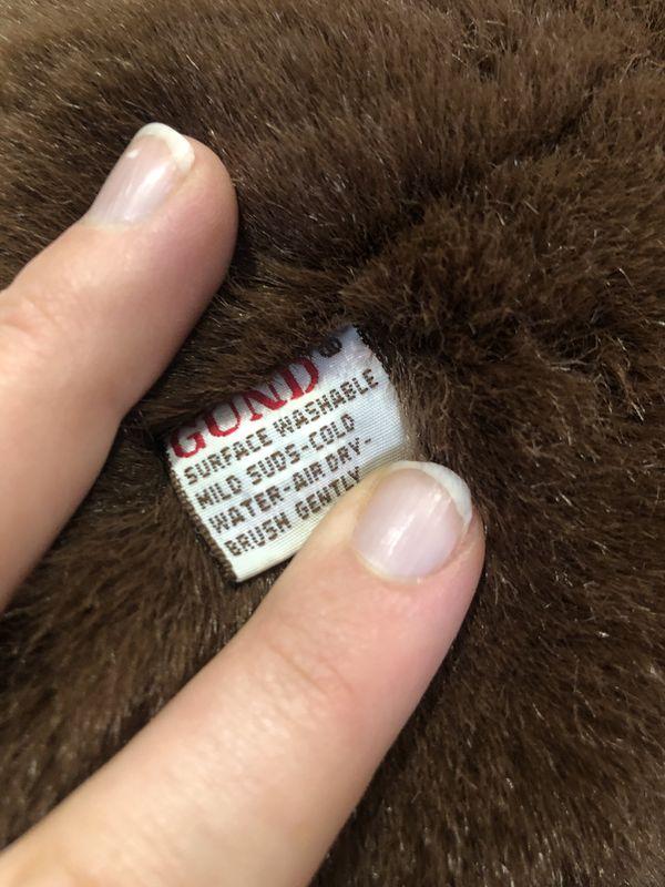 Authentic Gund Brown Teddy Bear