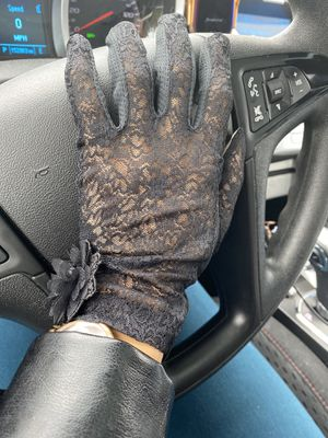 Lace and silk driving gloves for Sale in Fairfield, IA