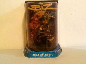 BIZ END OF EDEN BY SIMON BISLEY ACTION FIGURE MASTER ARTISTS SERIES 1999 NEW- Package wear but figure mint for Sale in New York, NY