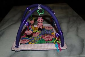 "Dollhouse Miniature Play Gym for Baby Dolls Measures 5.25 x 5.25"" inches HANDMADE CRAFTS for Sale in Monrovia, CA"