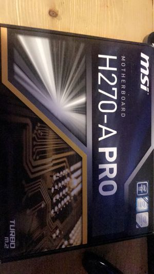 MSi MotherBoard H270-APRO for Sale in Corning, CA