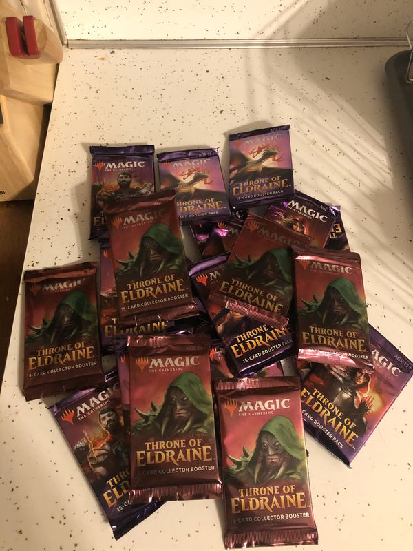 Magic The Gathering Collector Packs
