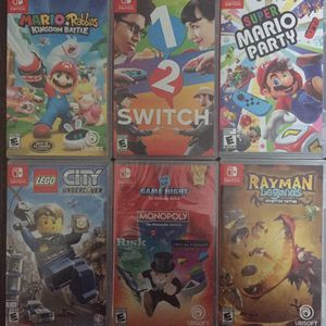 Nintwndo switch Games for Sale in Rockdale, IL