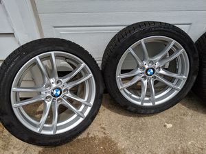 2015 BMW M4 winter tires & wheels for Sale in Rock Island, IL