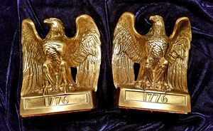 Solid Brass Eagle Bookends for Sale in Orlando, FL