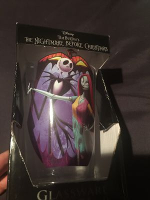 Nightmare before Christmas cup for Sale in Sacramento, CA