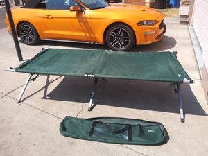 Camping cot in good condition for Sale in Phoenix, AZ