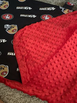 49ers infant cover for car seat for Sale in Albuquerque, NM