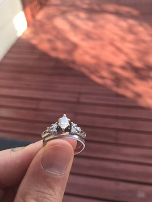 14k white gold diamond ring for Sale in Aurora, CO