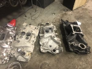 Chevy. 350 intakes for Sale in Pittsburgh, PA