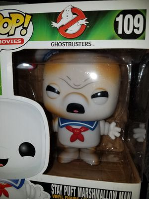 Funko pop stay puft marshmallow man toasted angry Ghostbusters for Sale in Ontario, CA