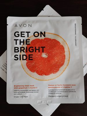 Avon Get On the Bright Side Brighten Sheet Mask for Sale in Cypress, CA