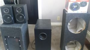 Speakers/subwoofer for Sale in Portland, OR
