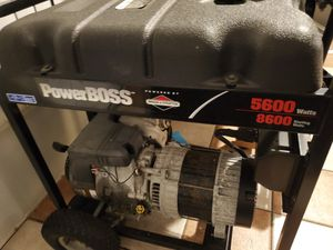 Briggs & stratton power boss 5600 for Sale in Fort Myers, FL