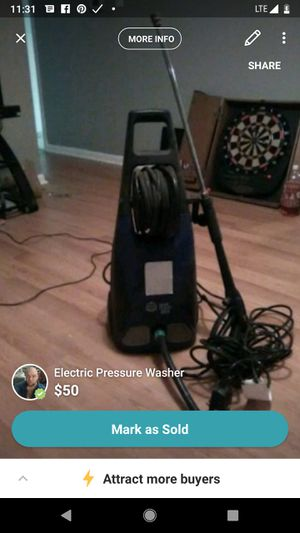 Electric pressure washer for Sale in Berryville, VA