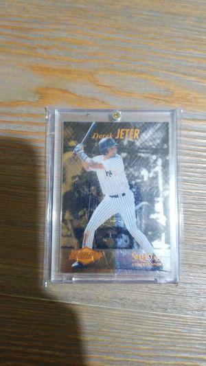 Baseball card- derek jeter select certified rookie for Sale in Roseburg, OR