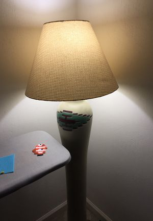 Tall lamp for sale with LED bulb for Sale in Yorktown, VA