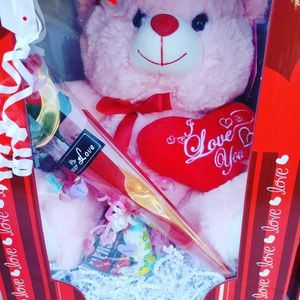 teddy bear boxes with rose and chocolate for Sale in Irwindale, CA
