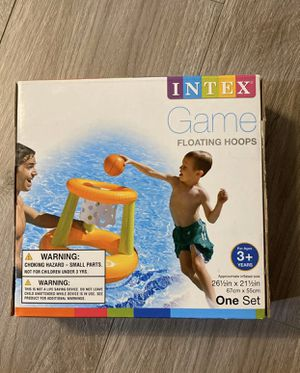Intex Pool Game Inflatable Basketball Floating Hoops 26 1/2 Inches for Sale in Hacienda Heights, CA