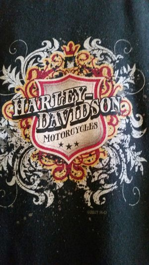 $15 TODAY! Awesome women's medium HARLEY DAVIDSON ZIP SWEATSHIRT! CHOPPER BIKE IRON HORSE INDIAN MOTORCYCLE ART for Sale in Rancho Cucamonga, CA
