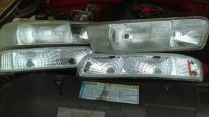 Headlights for 99-02 silverado for Sale in Dallas, TX