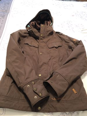 Burton women coat size medium for Sale in Fairfax, VA
