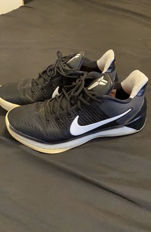 Nike Kobe A.D. Black White Sz 10 60$ OBO for Sale in Fresno, CA