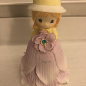 NIB Precious Moments Violet March Mini Bell for Sale in Greenville, SC