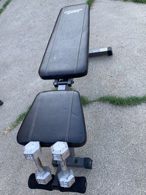 Adjustable bench / weights for Sale in Fremont, CA