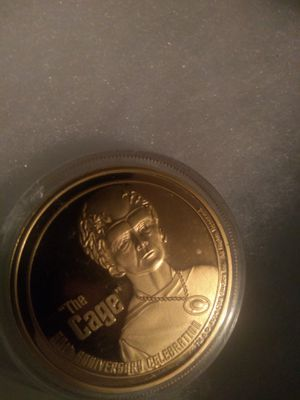 """THE CAGE"" 24KT GOLD COIN for Sale in Everett, WA"