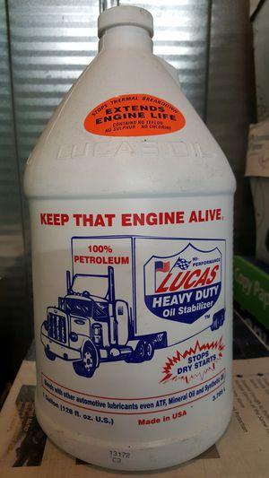 Lucas Heavy Duty Oil Stabilizer, 1 Gallon for Sale in Hayward, CA