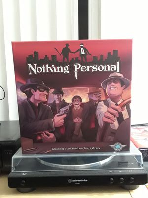 Nothing Personal Board Game for Sale in Long Beach, CA