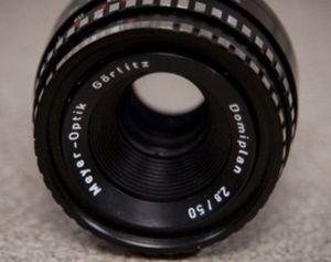 50mm Meyer Optik Gorlitz Domiplan f/2.8 Vintage Lens M42 Mount for Sale in Montclair, CA