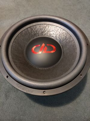 DD subwoofer 2000rms for Sale in Visalia, CA