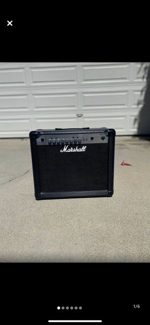 Marshall MG30CFX Combo Amp for Sale in Redondo Beach, CA