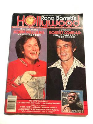 Robin Williams & Robert Conrad 1979 Hollywood Magazine for Sale in San Jose, CA