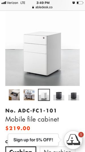 Able co filing cabinet for Sale in Raleigh, NC
