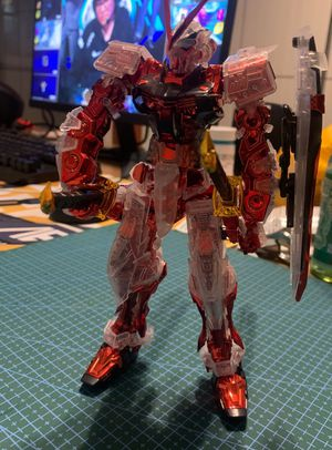 Assembled GUNDAM MG Red Astry Limited Edition for Sale in Pomona, CA