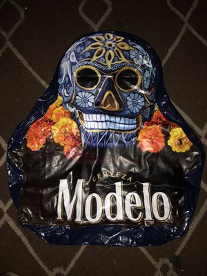Modelo Beer Inflatable for Pool or Decoration Dia De Los Muertos for Sale in Los Angeles, CA