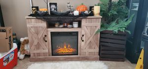 New Fireplace with remote / TV stand for Sale in San Jacinto, CA