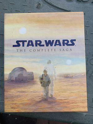 Complete saga Blu-ray star war for Sale in Anaheim, CA