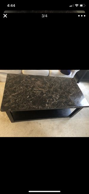 2 side Tables + middle table for Sale in Vienna, VA