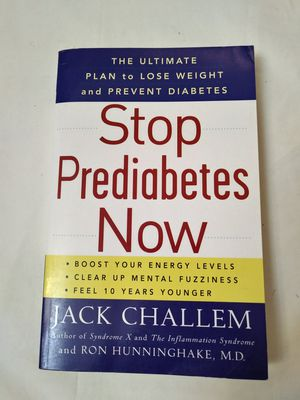 Stop Prediabetes Now Book. Jack Challem Book. for Sale in Riverside, CA
